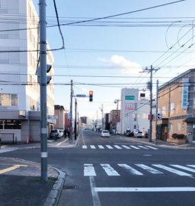 札幌の青空風景