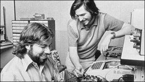apple創業期の写真