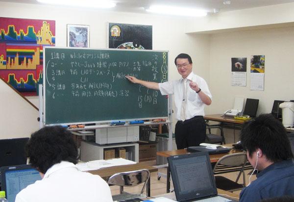 札幌WEBプログラミングスクール 一斉授業風景